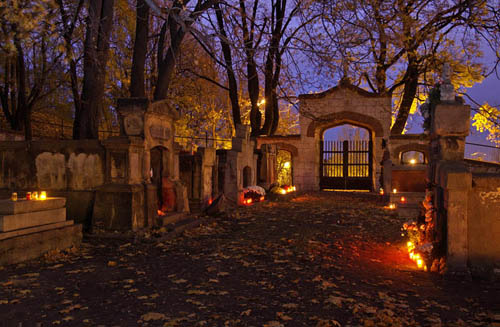 The Old Cemetery of Podgorze in Krakow