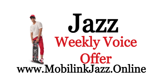 Jazz Weekly Voice Offer