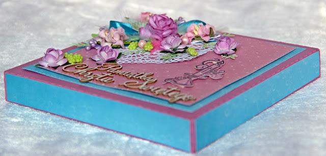pamiątka chrztu świetego, dla dziewczynki, z okazji chrztu, prezent od matki chrzestnej, kartka z okazji chrztu