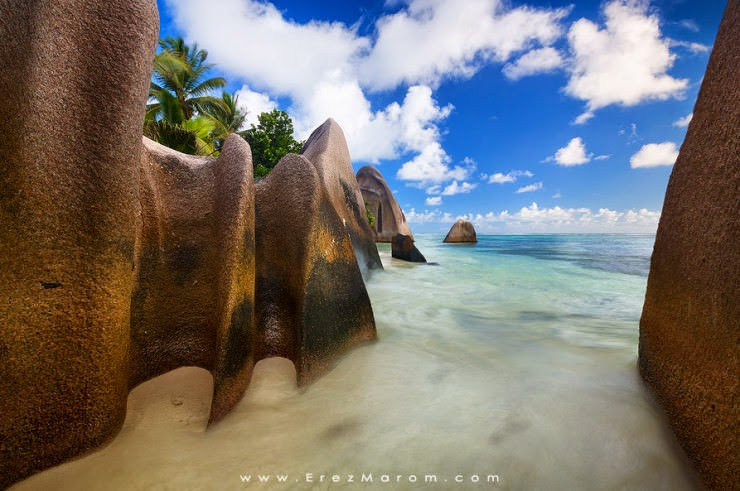 5. Anse Source d'Argent, La Digue Island, Seychelles - Top 10 Unusual Beaches