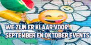 We gaan weer van start events September en Oktober 2020