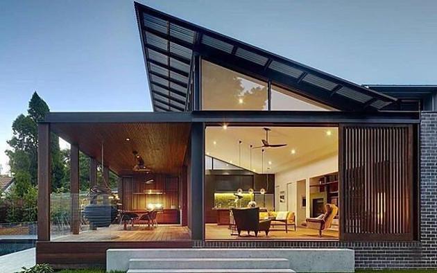 Atap minimalis