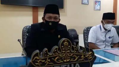 DPRD Tanggamus Gelar Paripurna Penyampaian LKPj. Bupati Tahun 2019