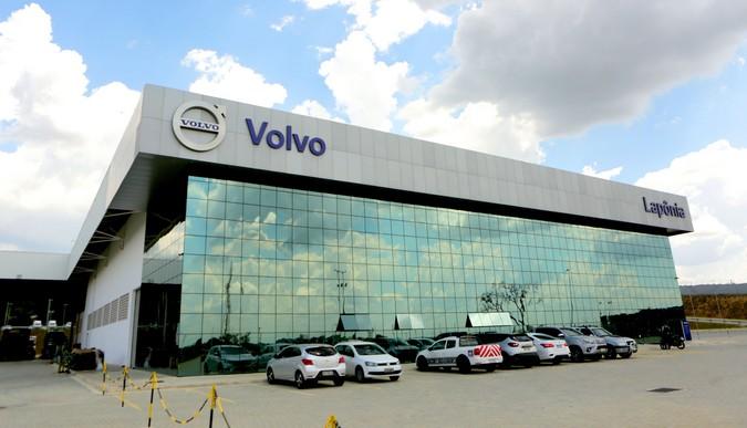 Volvo abre maior concessionária no Brasil, em Itu (SP)