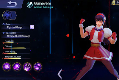 build guinevere tersakit ala lemon mobile legend pro player
