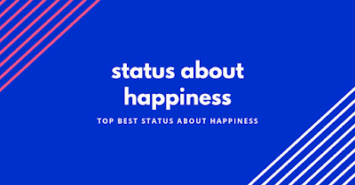 status about happiness