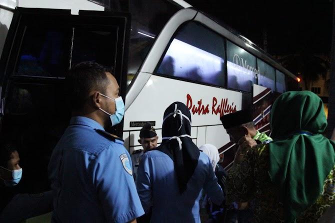 Total1.562 Orang Jamaah Calon Haji. Provinsi Bengkulu Menuju Tanah Suci