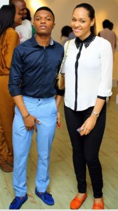 wizkid abd babe 168x300 - PHOTO: Wizkid and Hot Girlfriend {omotani}, Rocks Tsemaye Binitie Fashion Show {via @naijacenter }