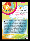 My Little Pony Sunburst Series 5 Trading Card
