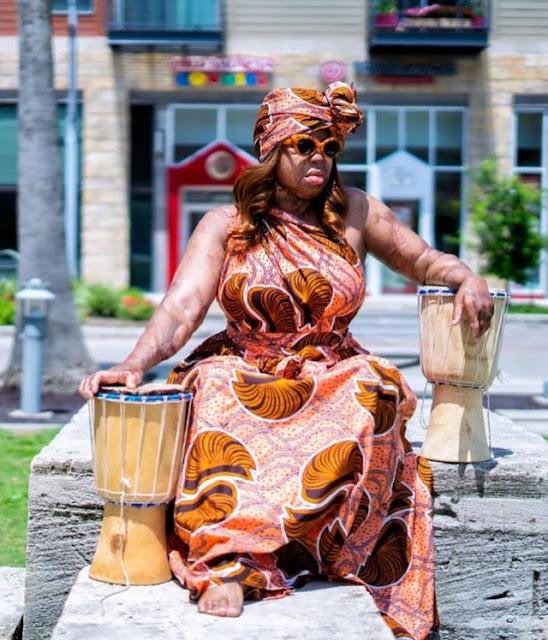 Sosoliso plane crash survivor and America's Got Talent Finalist, Kechi Okwuchi, shares stunning new photos