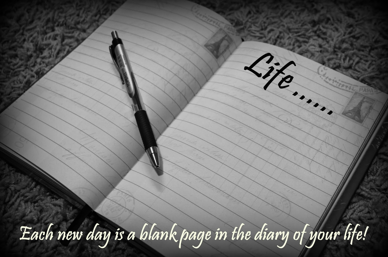 Life... A Blank Page