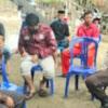 Personil Polsek Marbo Evakuasi Warga Tersambar Petir