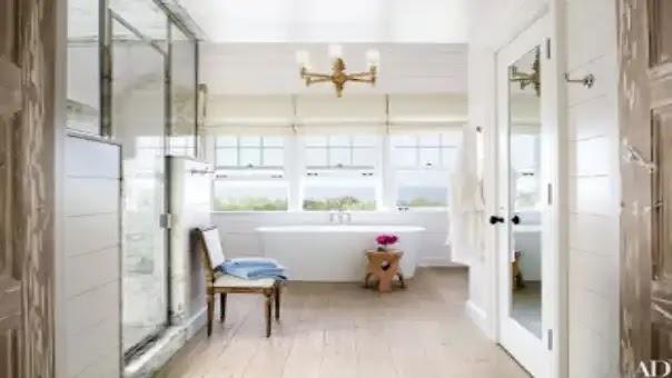 Fireside Bathtub, Beautiful bathroom