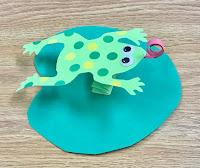 frog storytime craft