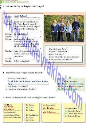 9. Sınıf Almanca A1.1 Ders Kitabı Cevapları Sayfa 32