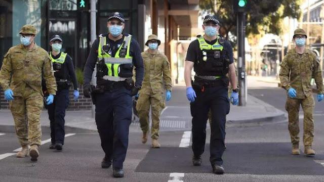 Australia: Come previsto, dai lockdown alla legge marziale