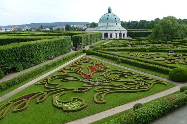 Ogród Kwiatowy w Kromieryż