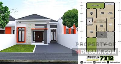Rumah Minimalis 2020 3 Kamar Tidur - DESAIN RUMAH MINIMALIS