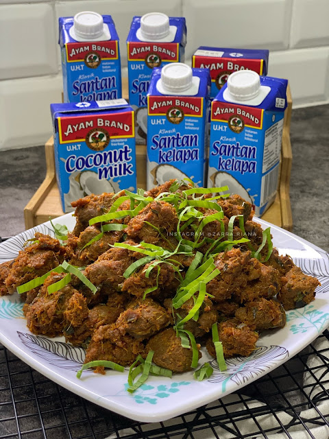 3 Resepi Rendang Ayam Brand Paling Mudah Di Masak