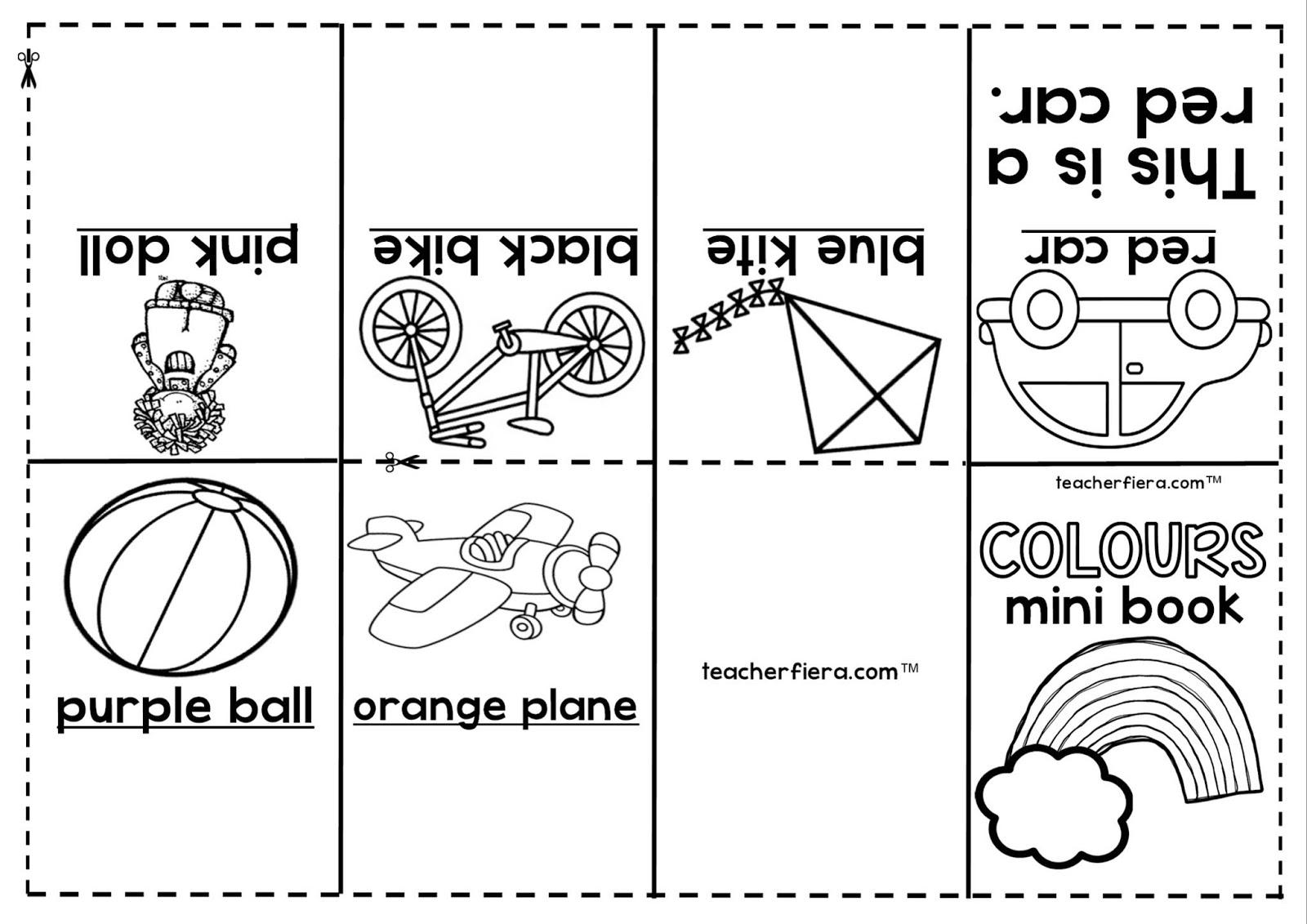 Teacherfiera Year 1 Amp Year 2 Mini Books Compilation