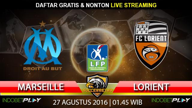 Prediksi Marseille vs Lorient 27 Agustus 2016 (Liga Prancis)