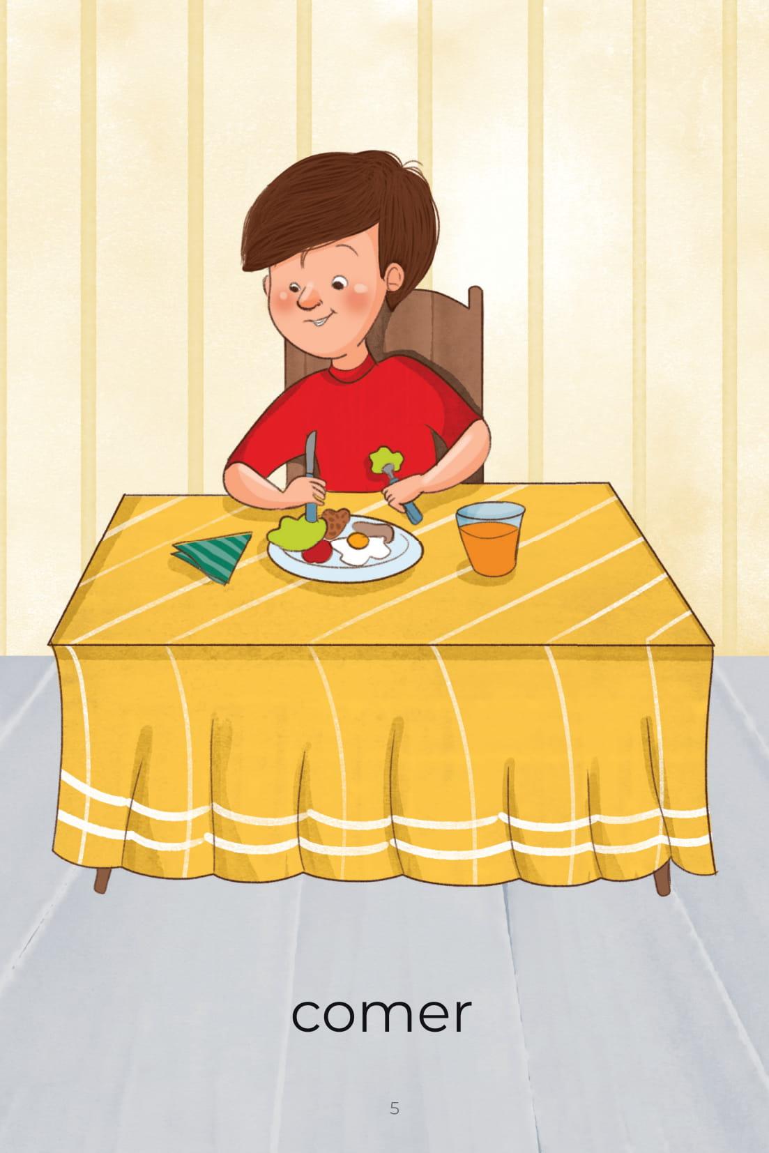 Atividades do Dia a Dia Comer