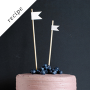 The Moistest Chocolate Cake with Berry Mascarpone Frosting by Tartlet Sweets