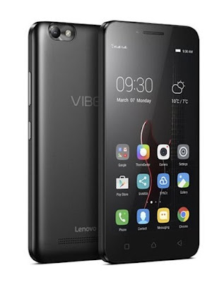 Lenovo Vibe C Specifications - LAUNCH Announced 2016, May DISPLAY Type IPS capacitive touchscreen, 16M colors Size 5.0 inches (~29.7% screen-to-body ratio) Resolution 480 x 854 pixels (~294 ppi pixel density) Multitouch Yes BODY Dimensions 143.5 x 71.8 x 9 mm (5.65 x 2.83 x 0.35 in) Weight 166 g (5.86 oz) SIM Dual SIM (Micro-SIM, dual stand-by) PLATFORM OS Android OS, v5.1.1 (Lollipop) CPU Quad-core 1.1 GHz Chipset  GPU  MEMORY Card slot microSD, up to 32 GB (dedicated slot) Internal 8 GB, 1 GB RAM CAMERA Primary 5 MP, autofocus, LED flash Secondary 2 MP Features Geo-tagging, touch focus, face detection Video 720p@30fps NETWORK Technology GSM / HSPA / LTE 2G bands GSM 900 / 1800 / 1900 - SIM 1 & SIM 2 3G bands HSDPA 850 / 900 / 1900 / 2100 4G bands LTE 850 / 900 / 1900 / 2100 Speed HSPA, LTE Cat4 150/50 Mbps GPRS Yes EDGE Yes COMMS WLAN Wi-Fi 802.11 b/g/n, hotspot GPS Yes, with A-GPS USB microUSB v2.0 Radio FM radio Bluetooth v4.0, A2DP FEATURES Sensors Accelerometer, proximity Messaging SMS(threaded view), MMS, Email, Push Mail, IM Browser HTML5 Java No SOUND Alert types Vibration; MP3, WAV ringtones Loudspeaker Yes 3.5mm jack Yes BATTERY  Removable Li-Ion 2300 mAh battery Stand-by  Talk time  Music play  MISC Colors Black  - MP4/H.264 player - MP3/WAV/eAAC+/FLAC player - Photo/video editor - Document viewer