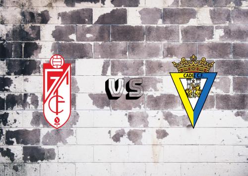 Granada vs Cádiz  Resumen