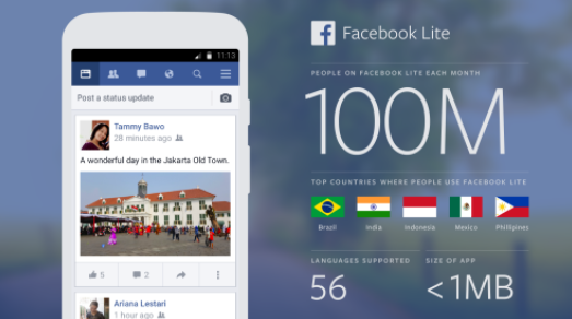 FB Facebook Lite Download
