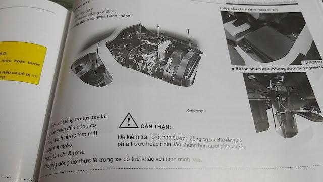 Hướng dẫn bổ sung nước làm mát động cơ xe Hyundai H150 đông lạnh
