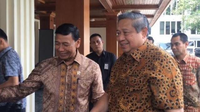 Dapat Jabatan Baru, Ketua Menkopolhukam Temui SBY,