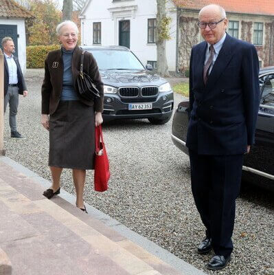 Queen Margrethe II of Denmark attended The Classen Fideicommiss Foundation's working meeting at Corselitze Manor House. Crown Princess Mary