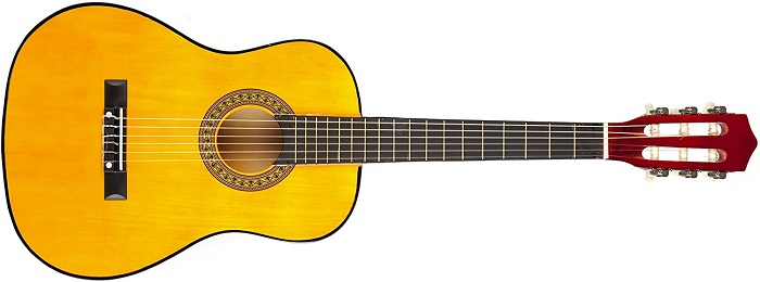 Music Alley MA34-N - #1 Best Acoustic Guitar For Kids Under $50