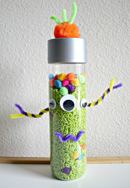 monster sensory bottles