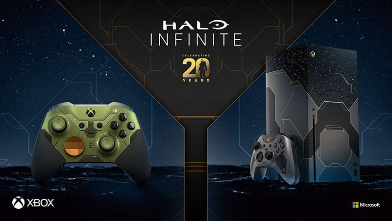 Xbox Series X Halo Infinite limited-edition bundle announced