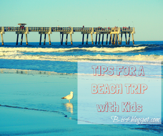 Tips for a Beach Trip with Kids