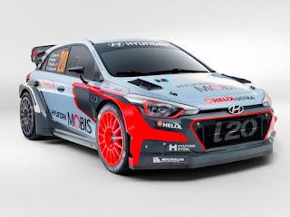 New Generation i20 WRC Hyundai Mobis WRT