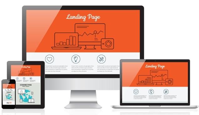 Giá trị của web Landing Page đối với Marketing Online