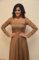 Eesha looks super cute in Beig Anarkali Dress at Maya Mall pre release function ~ Celebrities Exclusive Galleries 026.JPG