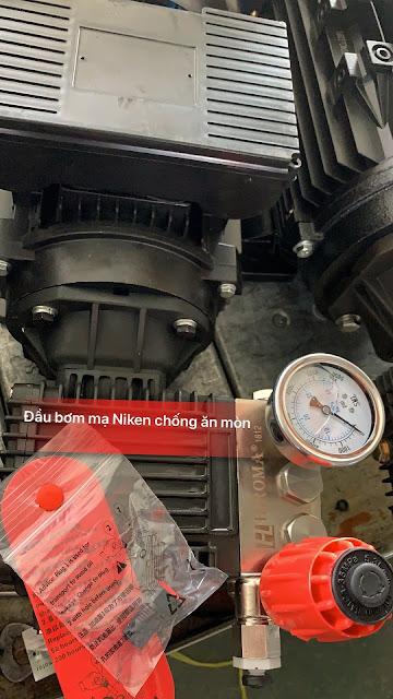 Máy rửa xe chính hãng HIROMA Công suất 3kw Model DHL - 131 5