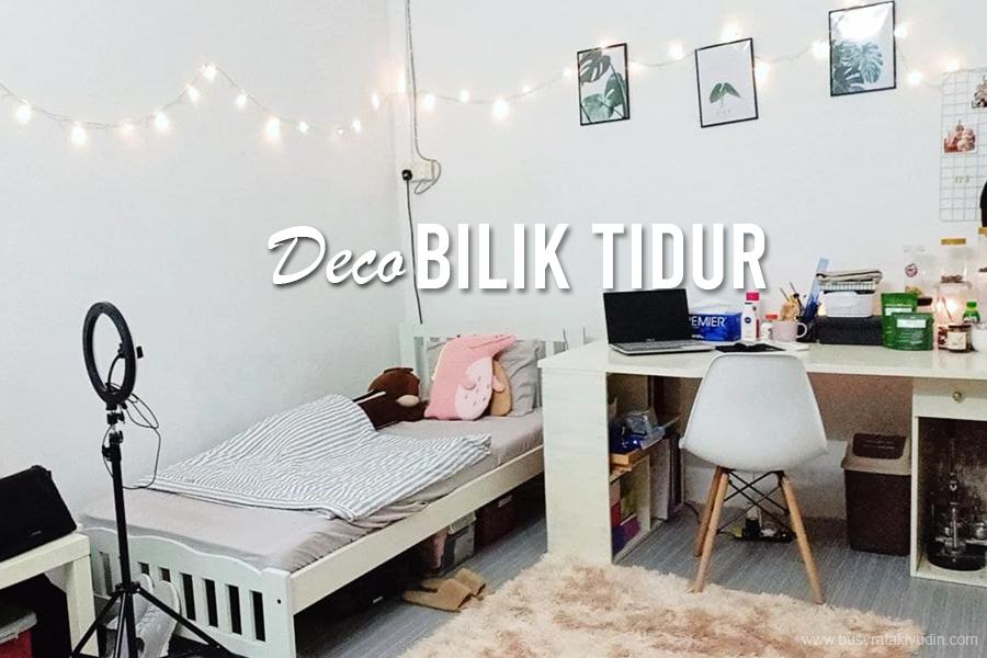 deco bilik tidur, pokok hiasan viral, pkp 2021, deco bilik tidur utama, tema bilik minimalis, pokok hiasan dalam bilik tidur,