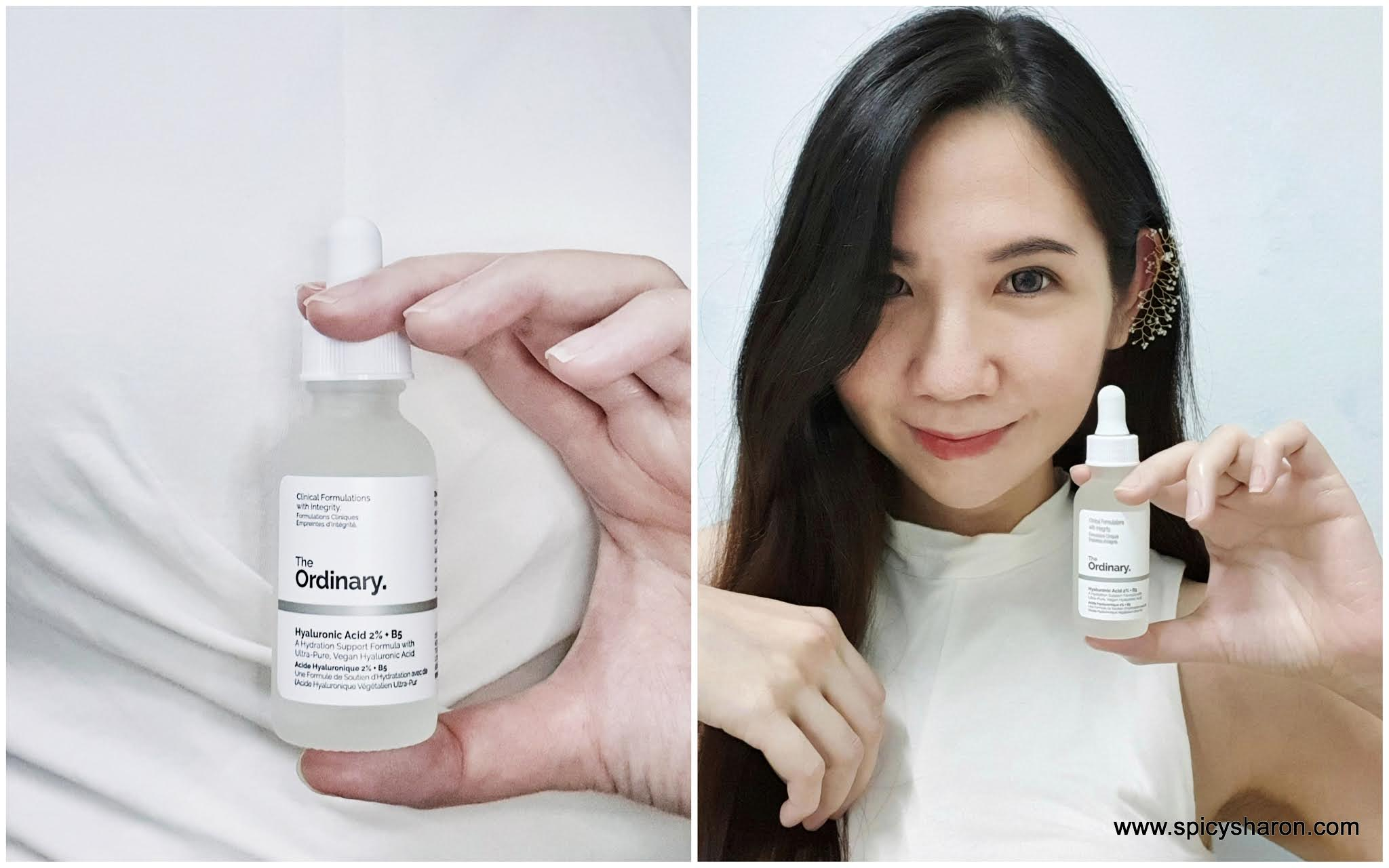Product Review : The Ordinary Niacinamide 10% + Zinc 1% And Hyaluronic Acid 2% + B5