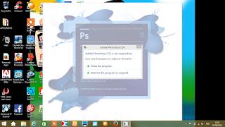 penyebab nnot responding di laptop