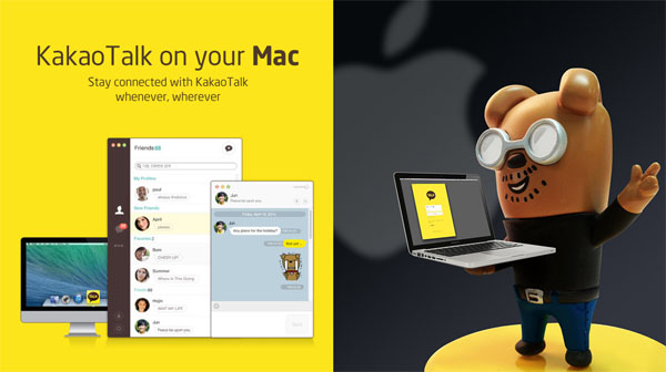 KakaoTalk Kini Tersedia Bagi Pengguna Mac