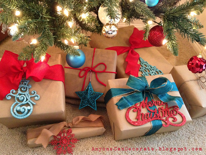 Anyone Can Decorate: Brown Paper Packages Tied Up With Strings