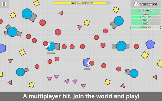 diep.io Game Interface
