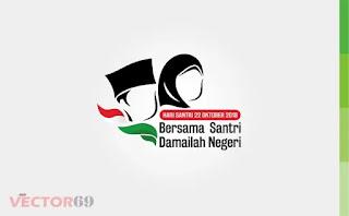 Hari Santri Nasional (HSN) 2018 Logo - Download Vector File CDR (CorelDraw)