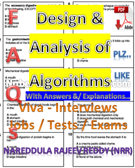 Design And Analysis Of Algorithms Notes Pdf Free Download
