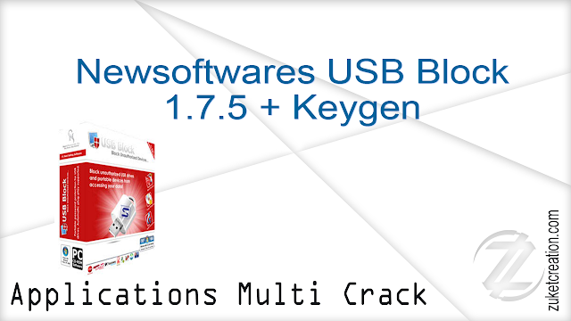 Newsoftwares USB Block 1.7.5 + Keygen     |   20 MB
